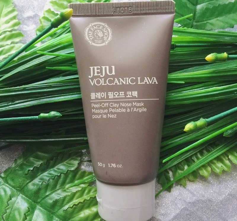 Gel lột mụn đầu đen The Face Shop Jeju Volcanic Lava Peel Off Clay Nose